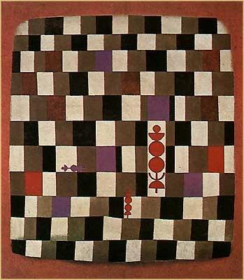 Paul Klee. Super chess (1931).