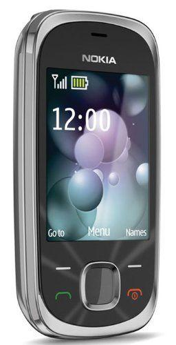 Black Friday Nokia 7230 Slide Sim Free Mobile Phone - Graphite Deals week 3412