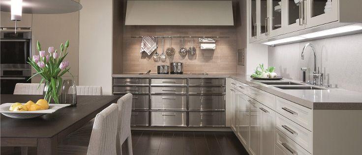 Rode Keuken Combineren : keuken met mooie klassieke elementen. Pinterest Met, Van and Art