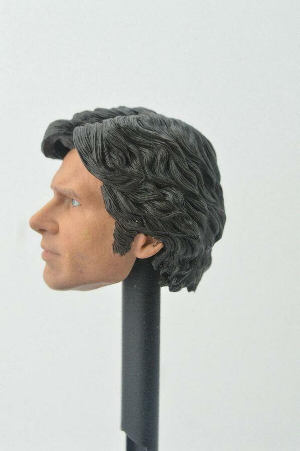 "Han Solo For 12/"" Body 1:6 Scale Custom Headsculpt of Harrison Ford"
