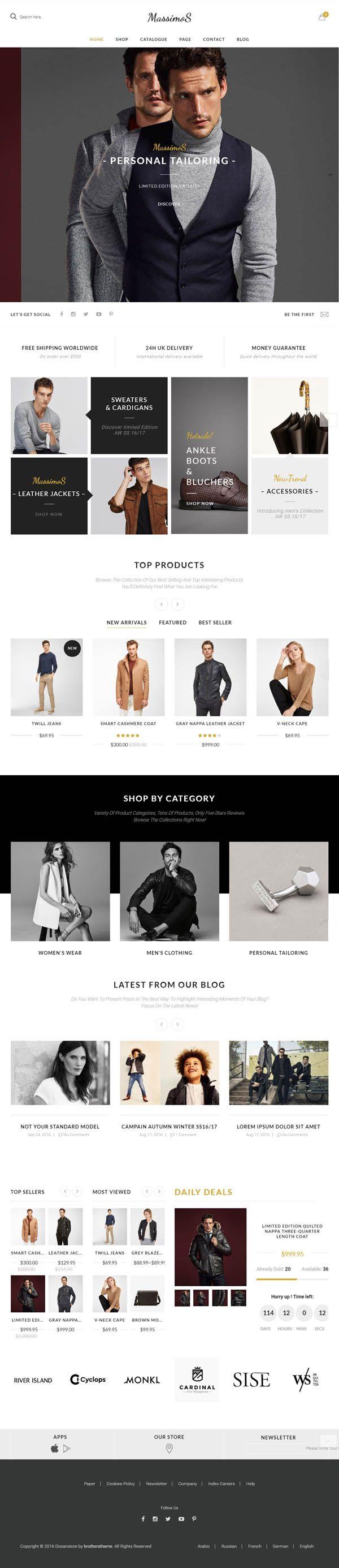 Massimos : Responsive WooCommerce Theme