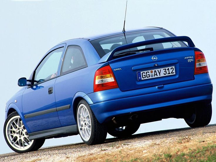 Opel Astra OPC (G) '1999–2001