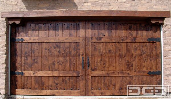 Dynamic Garage Door   Custom Architectural Garage Door : Mediterranean Revival