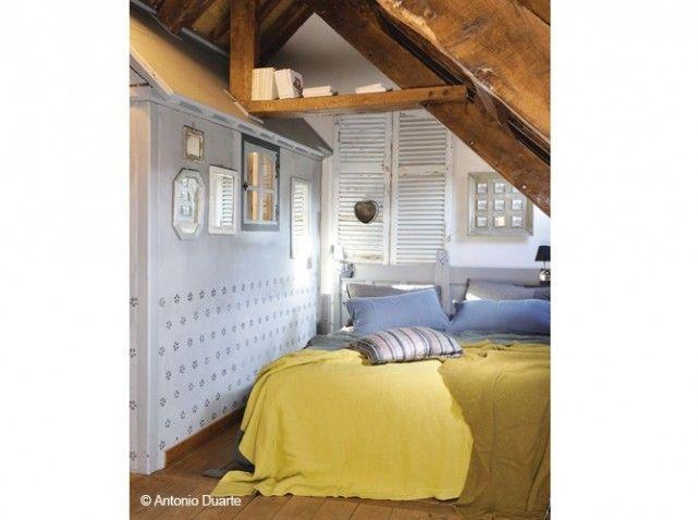 Chambre sous toits