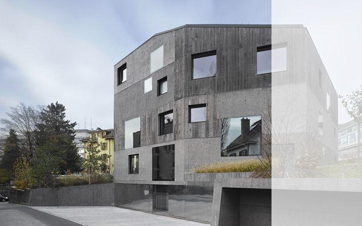 2b architectes:  Villa Urbaine 4 en 1