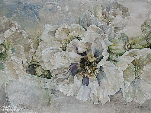 Linda Thompson, 'Softest Shade', 12'' x 16'' | Galerie d'art - Au P'tit Bonheur - Art Gallery