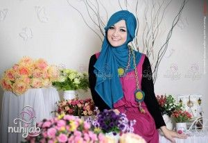 Jilbab Turban Ninja Instan - Hijab Style Nuhijab