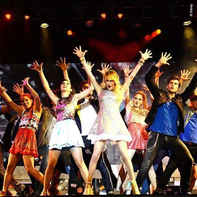 Violetta saison 3 épisode en tournée ☑❤
