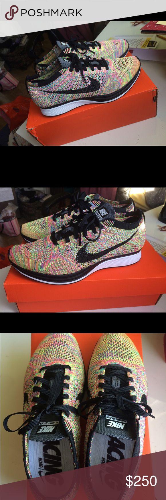 Nike Flyknit Racer multicolor. Dead stock. Nike Flyknit Racer multicolor. Women's 7.5. Dead stock. New with box. Nike Shoes Sneakers