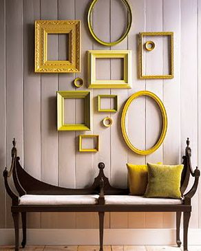 Oh yes, excellent project.  Frame hunting is the challenge! I debated a wall of mustard yellow, but this is almost better.