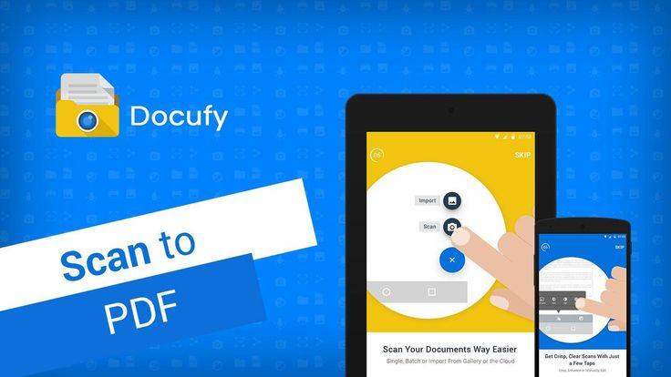Jueves 03 de Marzo 2016.Por:Yomar Gonzalez| AndroidfastApk   Docufy: Scan to PDF Premium v10.5.0.20160301 Requisitos: Varía según el dispositivo Descripción general: Docufy App: el Smart Escáner de documentos. Hay una gran cantidad de aplicaciones disponibles para Android escáner móvil pero sólo unos pocos son altamente recomendados por los expertos en la industria de la tecnología. Recomendado por el CES Aplicaciones Móviles Desenlace - 'Android escáner móvil' Premio del  Personas - 'La…