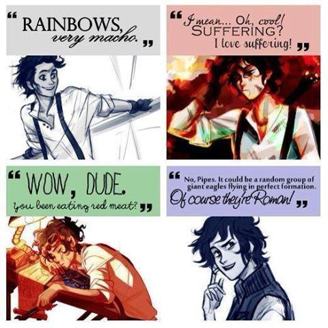 he is my favorite book character :D Leo valdez