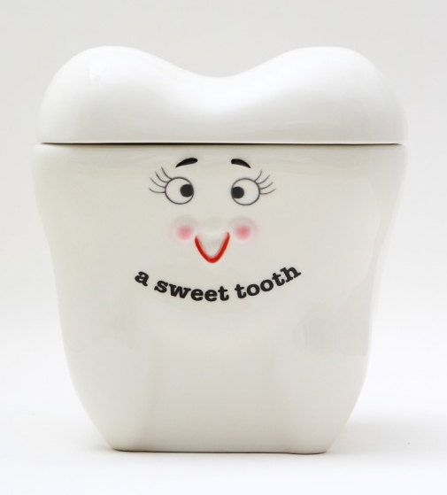 Tooth Shaped Cookie Jar for Dentist & Office Staff Gift Basket or Gift for some1 in Dental Field, #Christmas - coffee, tea, cocoa, chocolate, dual coffee maker