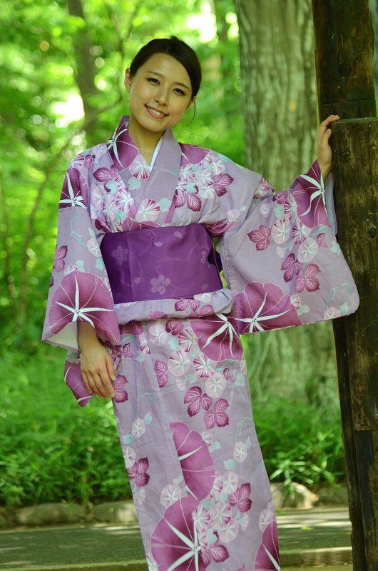 Yukata kimono Market sakura / Yukata kimono for women