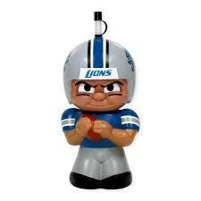 NFL Detroit Lions Big Sip 16 oz 3D Water Bottle
