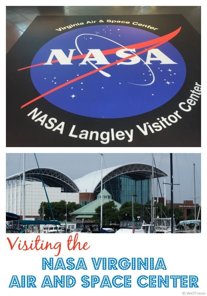 The NASA Virginia Air and Space Center should be on your must see list when visiting Virginia Beach, Norfolk, Hampton, Newport News, or Williamsburg Virginia. Here you will see vehicles from four of the five space missions, three billion year old moon rocks, a replica of the Wright Flyer and so much more.