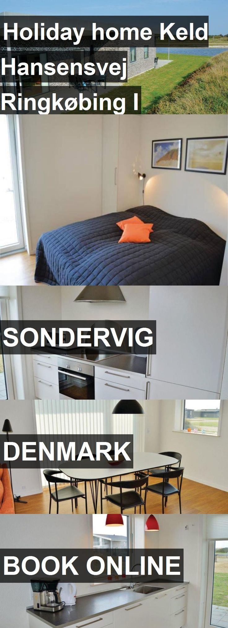 Hotel Holiday home Keld Hansensvej Ringkøbing I in Sondervig, Denmark. For more information, photos, reviews and best prices please follow the link. #Denmark #Sondervig #travel #vacation #hotel