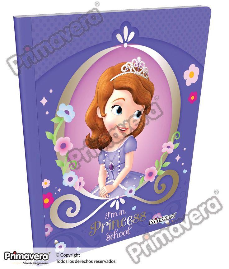 Cuaderno Cosido Infantil Princesita Sofía http://escolar.papelesprimavera.com/product/cuaderno-cosido-infantil-sofia-primavera/