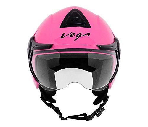 Vega Verve Open Face Helmet (Women's, Pink, M) Vega http://www.amazon.in/dp/B019WFP0T4/ref=cm_sw_r_pi_dp_x_3lekyb1M7HPEH