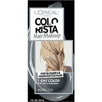 L'Oréal Colorista Hair Makeup 1-Day Hair Color For Blondes
