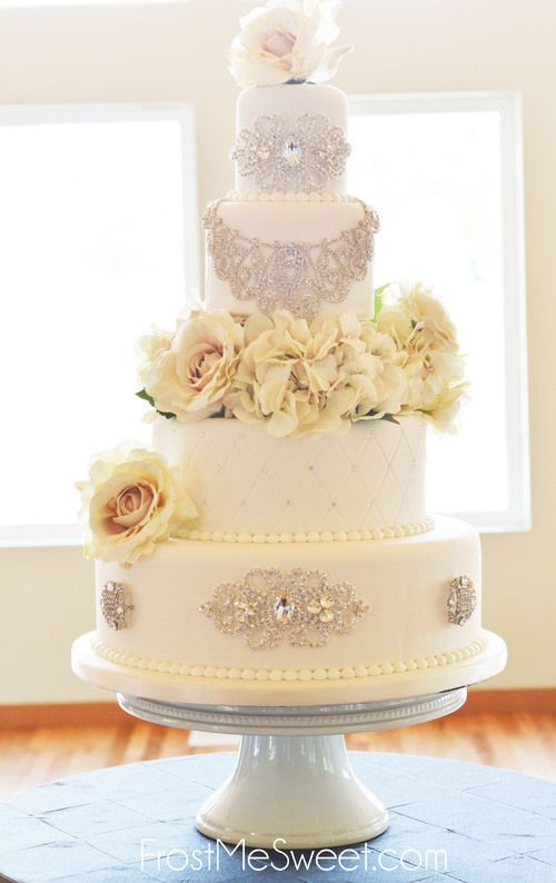 197 best FMS Wedding Cakes images on Pinterest | Cupcake bakery ...