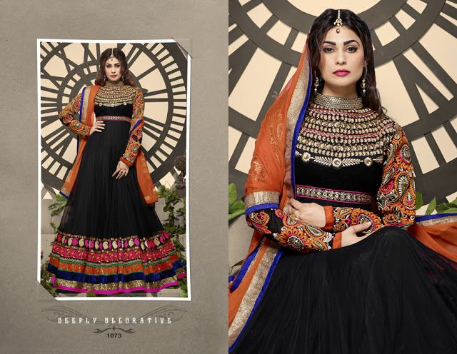 Luxurious Designer Wear Anarkali Suit only at £ 62