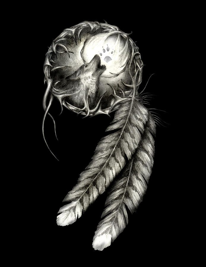 dream catcher lace drawing - Google Search | Tattoo Ideas ...