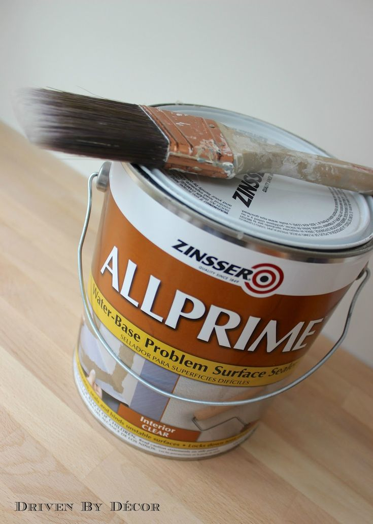 My fave product for wall prep after removing wallpaper