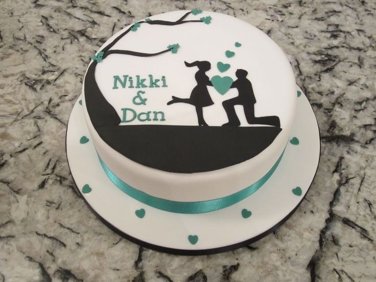 Best 25+ Engagement cake decorations ideas on Pinterest ...