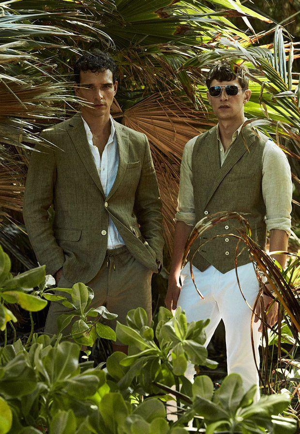 Alexandre Cunha and Mathias Lauridsen Model Massimo Dutti SS17 Collection