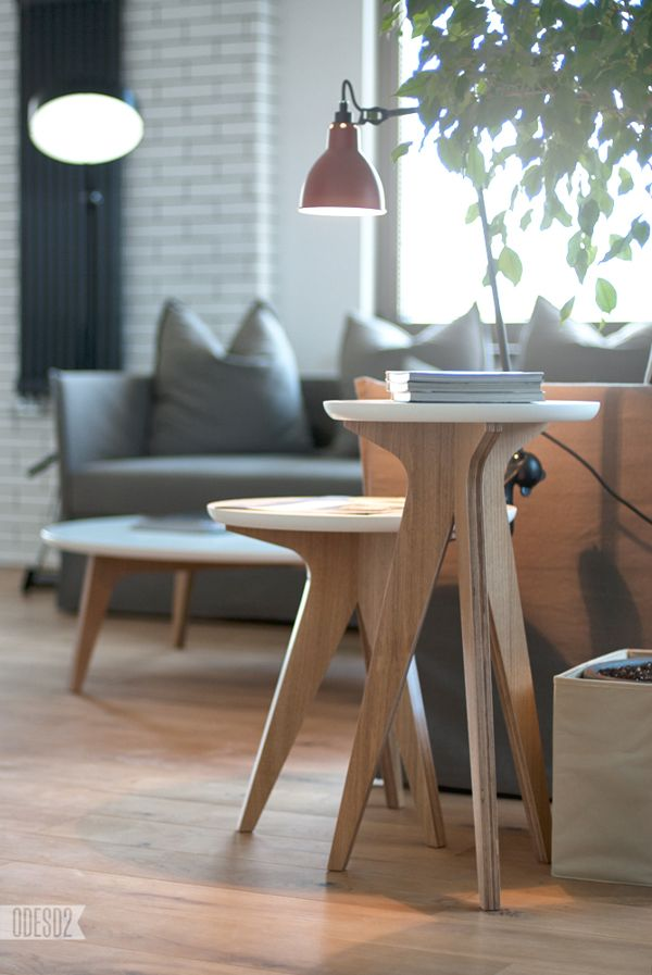 Furniture in interior by ODESD2 , via Behance
