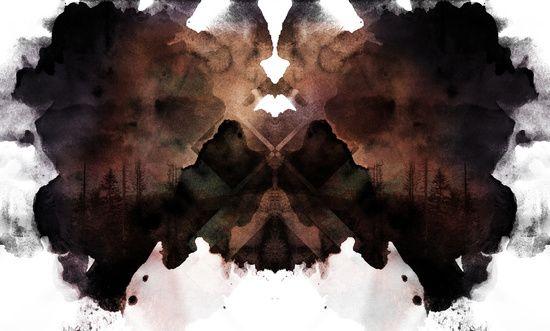 Test de Rorschach III Art Print