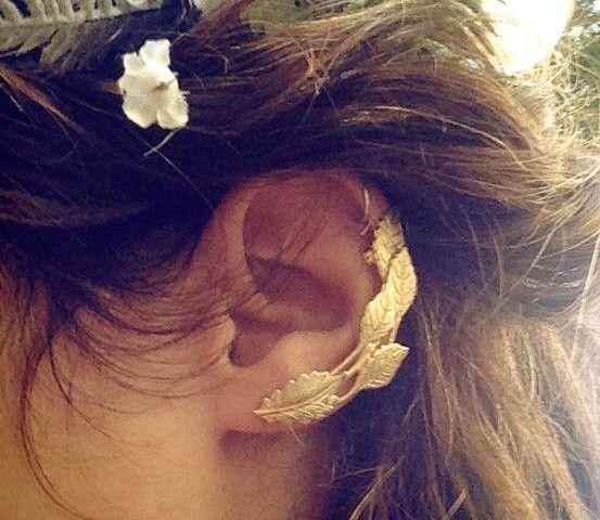 Ivy Ear Cuff.