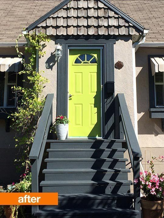 Before & After: From Crumbling to Crisp Curb Appeal, All For $125 — From the Archives: Greatest Hits | Apartment Therapy