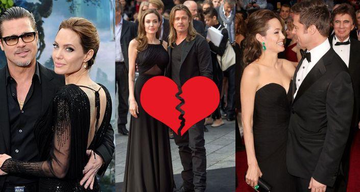 Angelina Jolie e Brad Pitt, fine di una favola moderna