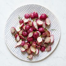 Roasted Radishes with Lemon and Dill
