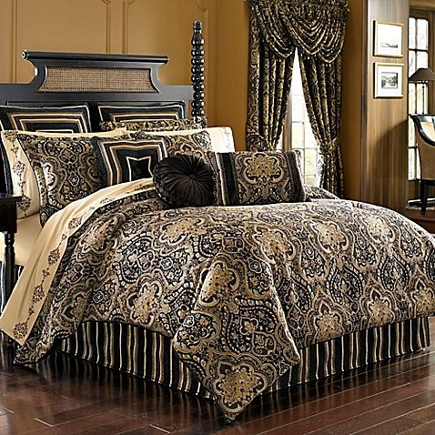 Captivating Make Your Bed Fit For A King Or Queen With The Opulent J. Queen New York  Paramount Comforter Set. Dressed In A Royal Medallion Design With A Damask  Print, ...