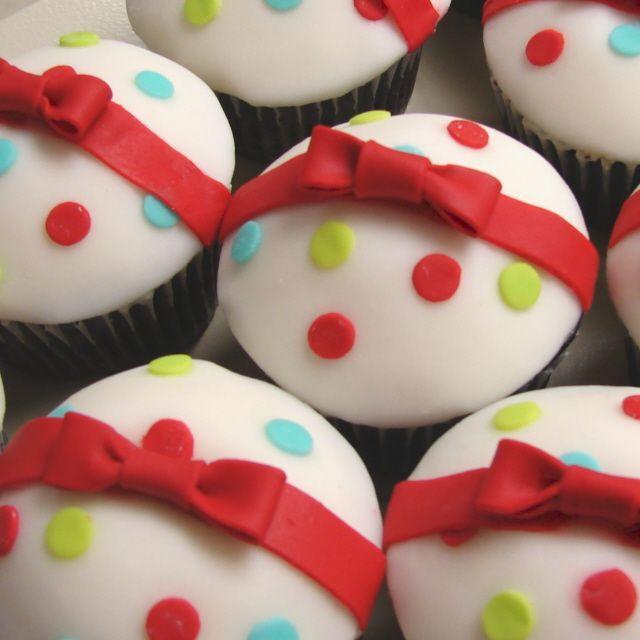 cupcakes | ... de feestdagen is om cupcakes te versieren met kerst decoraties