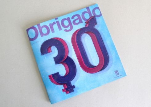 Obrigado Magazine graphics by Daniel Ting Chong.