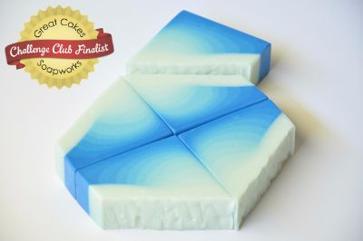 Glacier Ice soap by Jayme Jayne Inc.