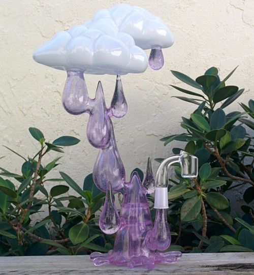 Rain Clouds Cannabis Dab Rig | Medical Marijuana Quality Matters