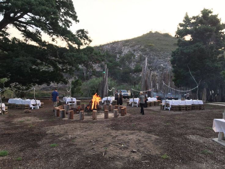 Boma Dinner at Botlierskop Private Game Reserve