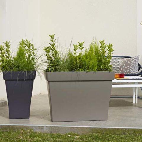 pot exterieur grande taille trendy vondom planter big round pot with rgb led light with pot. Black Bedroom Furniture Sets. Home Design Ideas