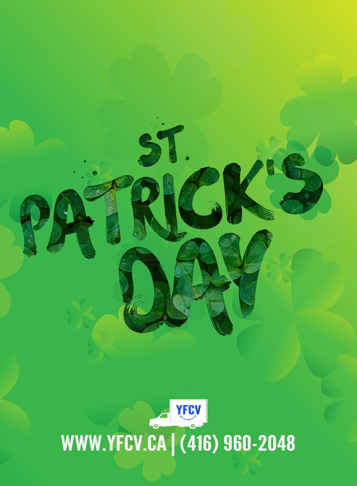 Happy #StPatricksDay from everyone at Your Friend with a Cube Van! 416-960-2048 #YFCV  #TorontoMovers www.yfcv.ca #Moving #Packing #Supplies - 381 Dundas St E, Toronto, ON M5A 2A6