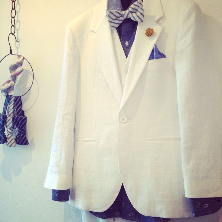 新郎さんにもカッコよくなってほしい。 #新郎 #結婚式 #オーダースーツ