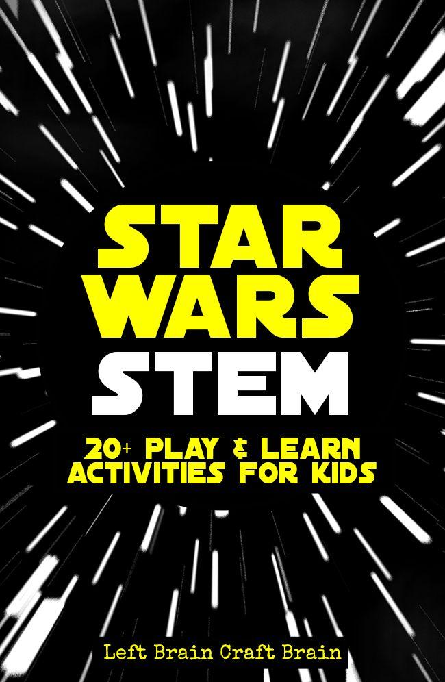 Star Wars STEM Learning Activities for Kids - Left Brain Craft Brain