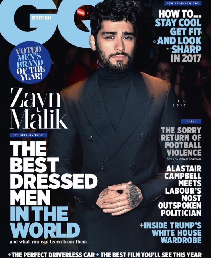 Zayn Malik covers GQ #British #ZaynMalik #GQ #Style #Fashion