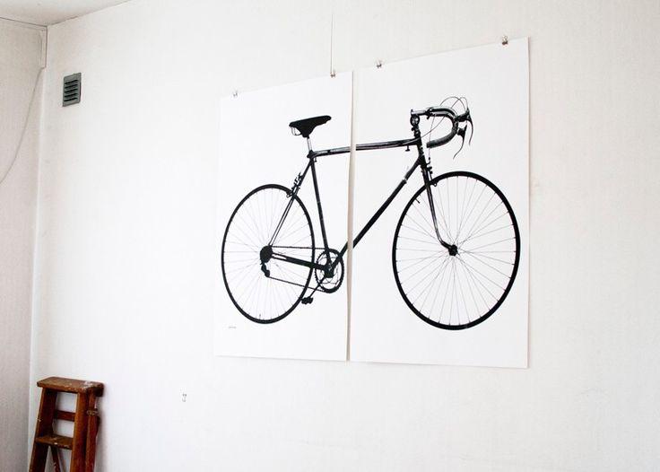 Världsmästarcykeln XL – 2 posters via jollygoodfellow. Click on the image to see more!