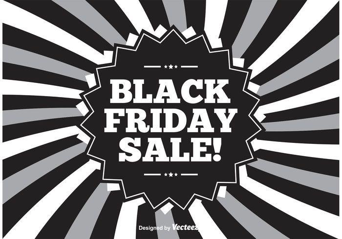 Free vector Black Friday Illustration #23702