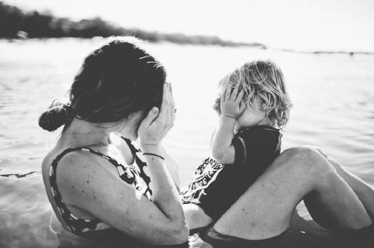 Θα ήθελα να είμαι πάντα, η μάνα που είμαι το καλοκαίρι